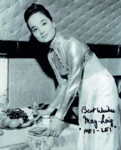 May Ling Autograph Photo - James Bond
